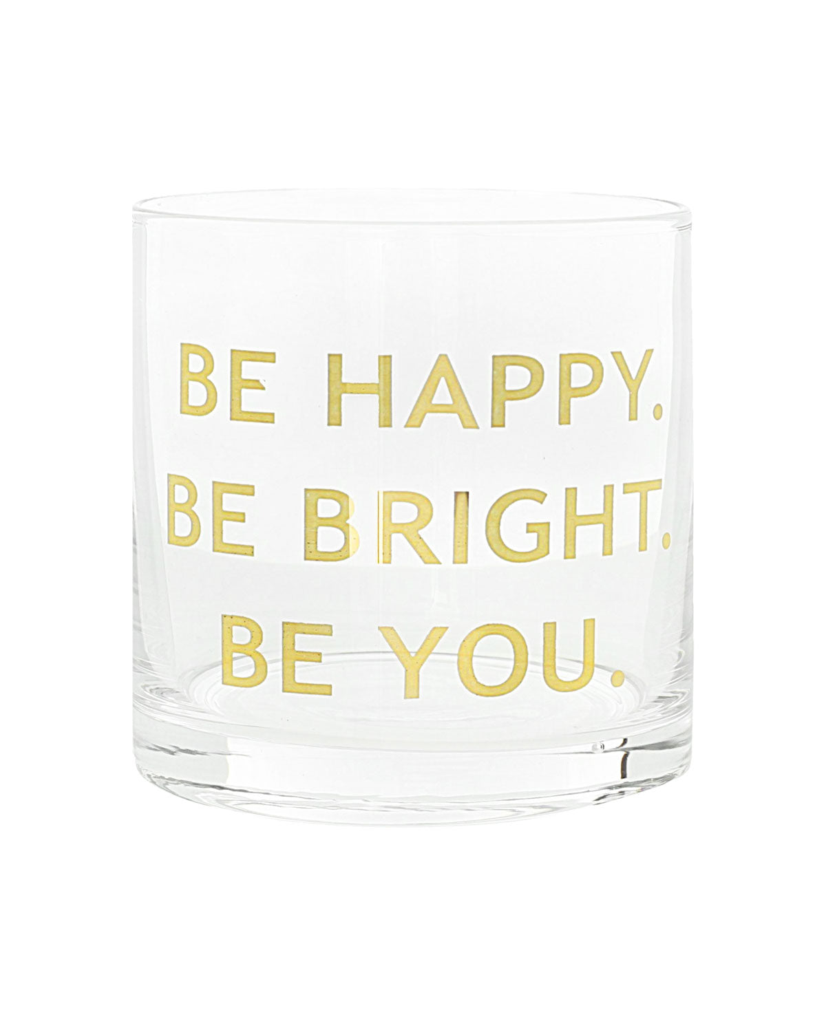 Be Happy Cocktail Glasses (Set of 4)