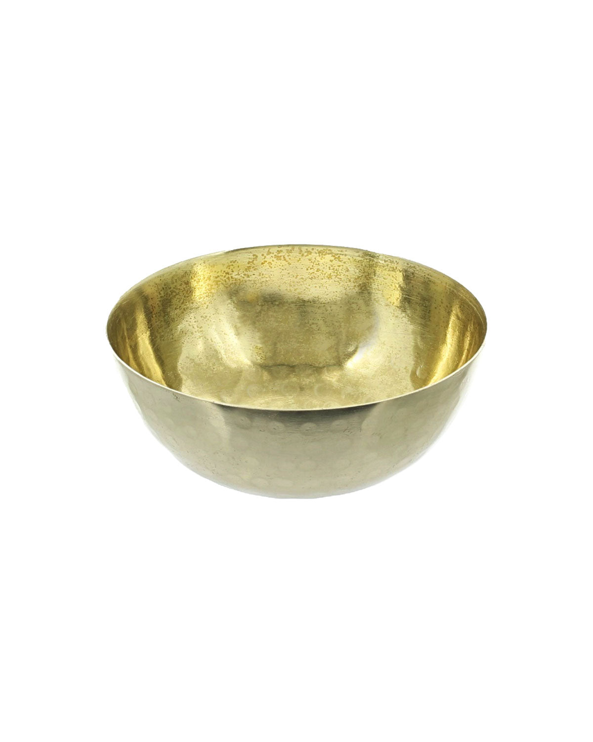 Hammered Gold Pinch Pot