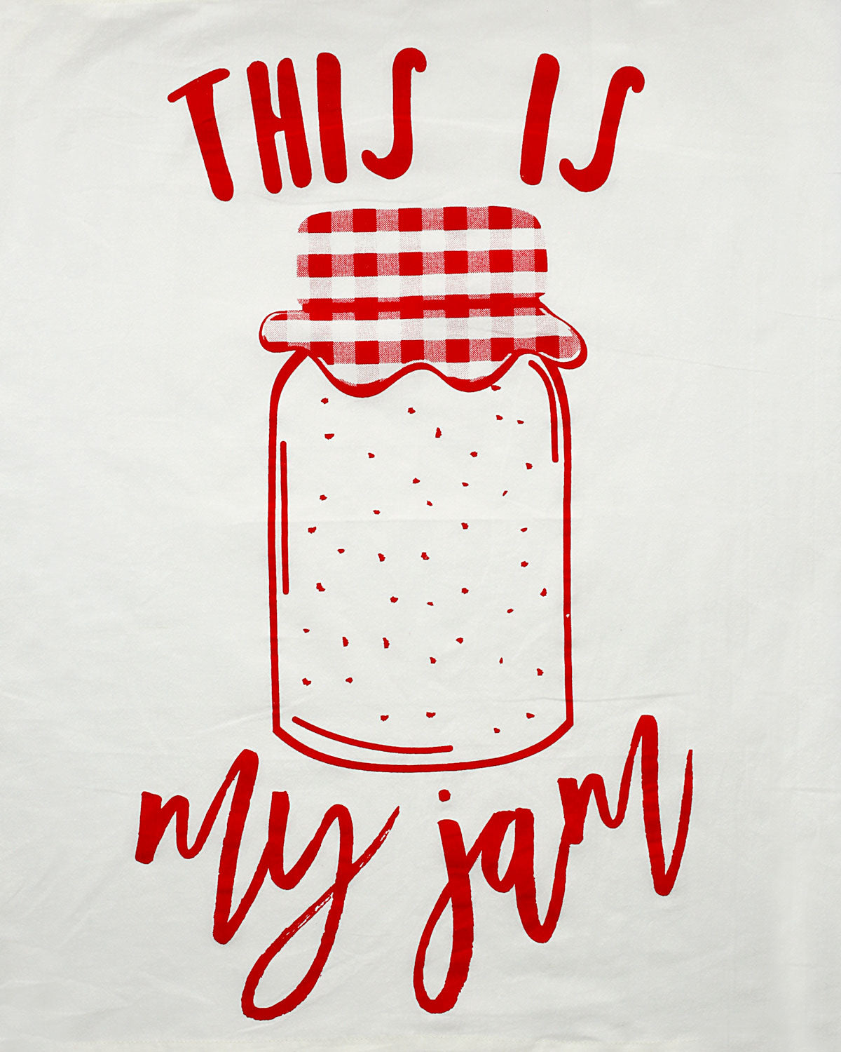 This is My Jam Tea Towel