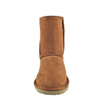 BONDI UGG - Crush Short Sheepskin Boot - Chestnut Cheetah