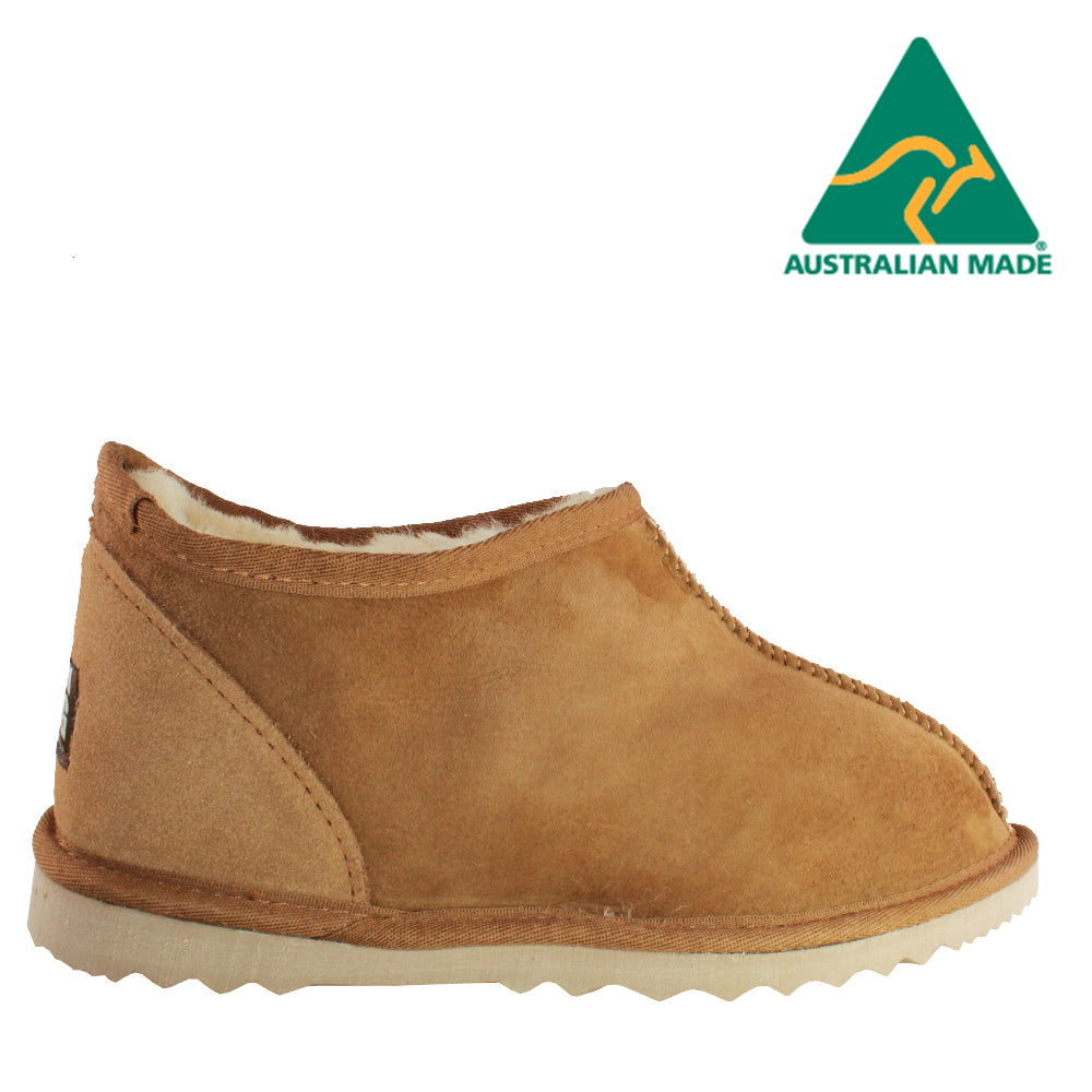 BONDI UGG - Classic Sheepskin Slipper - Chestnut