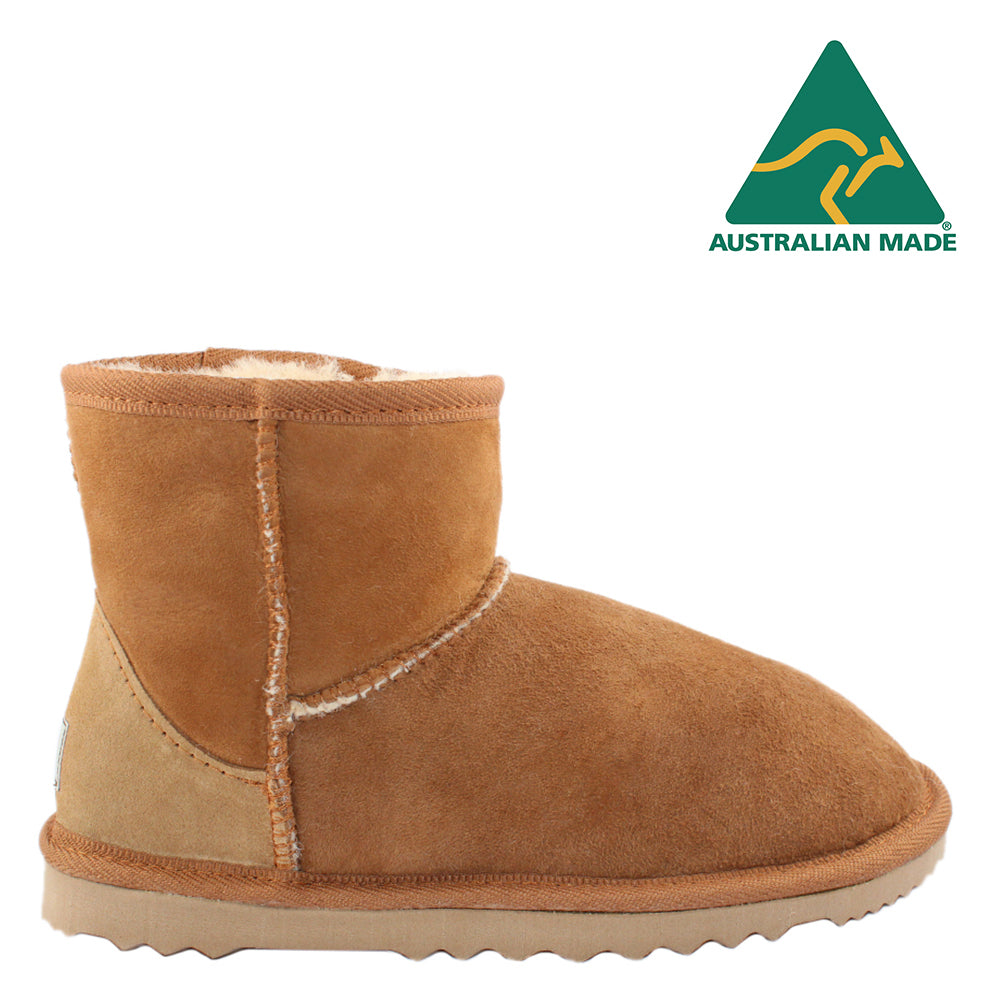 BONDI UGG - Classic Mini Sheepskin Boot - Chestnut