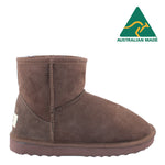 BONDI UGG - Classic Mini Sheepskin Boot - Chocolate