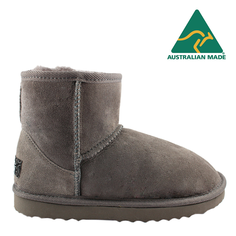 BONDI UGG - Classic Mini Sheepskin Boot - Grey