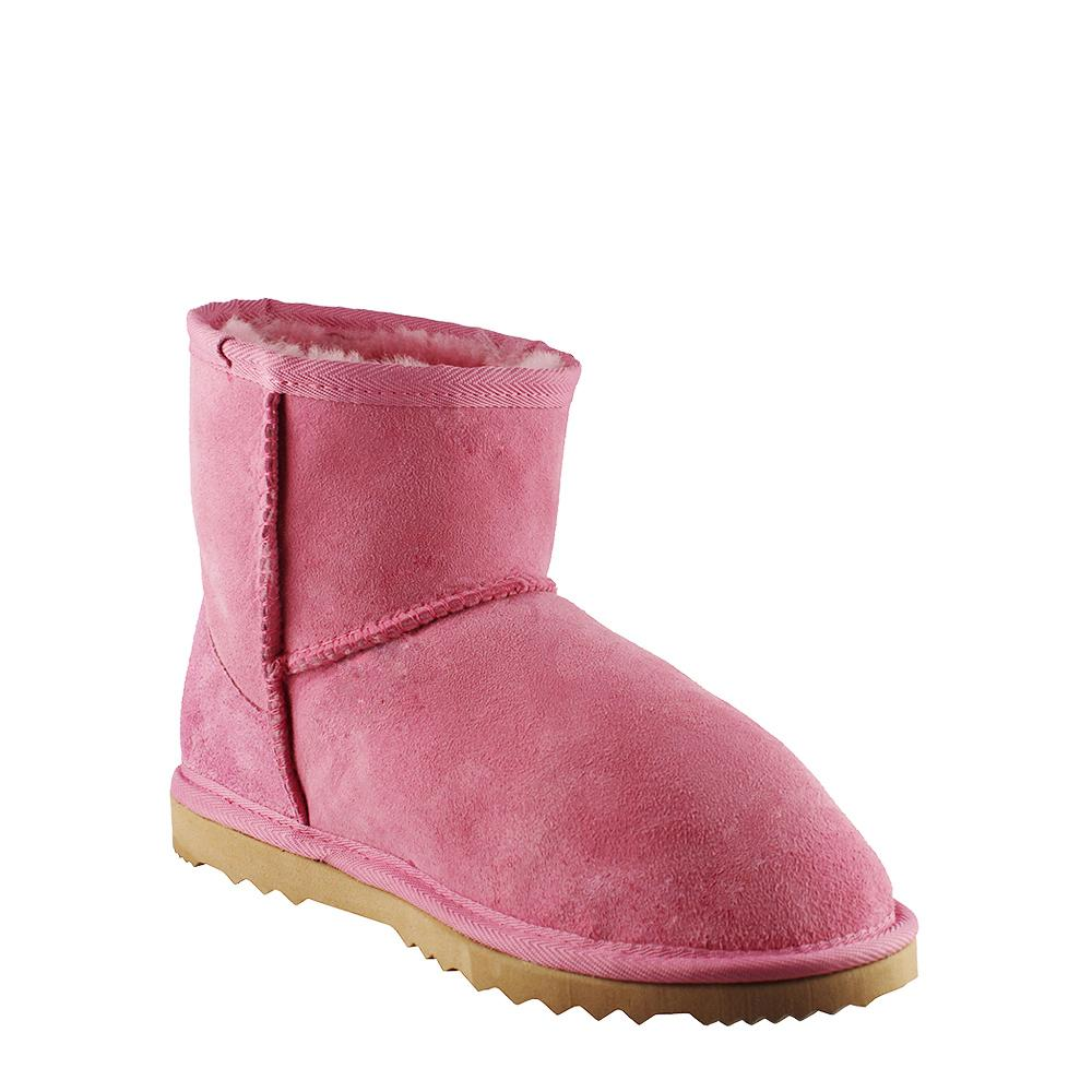 BONDI UGG - Classic Mini Sheepskin Boot - Pink