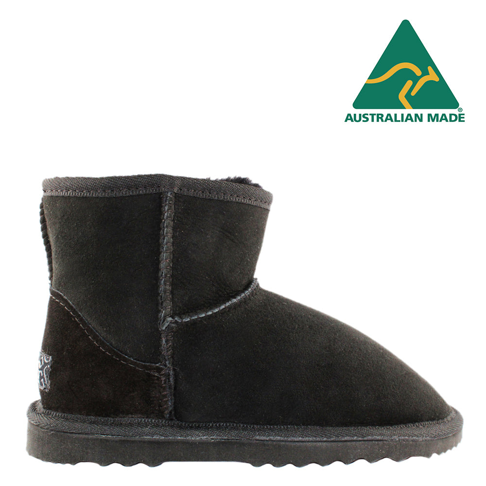 BONDI UGG - Classic Mini Sheepskin Boot - Black