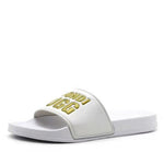 BONDI UGG - Beach Slide - White/Gold