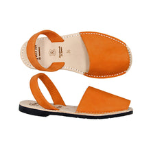 Orange Nubuck