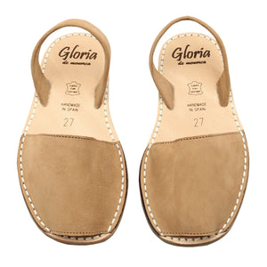 Girl MINI Tan nubuck