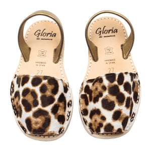 Girl Mini Leopard Fur