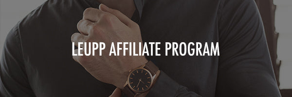 Leupp Affiliate Program