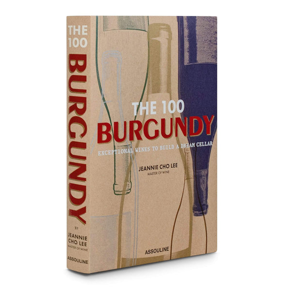 LIVRE ASSOULINE THE 100 BURGUNDY