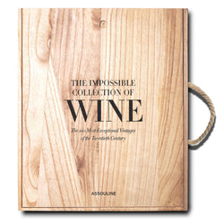 LIVRE ASSOULINE THE IMPOSSIBLE COLLECTION OF WINE