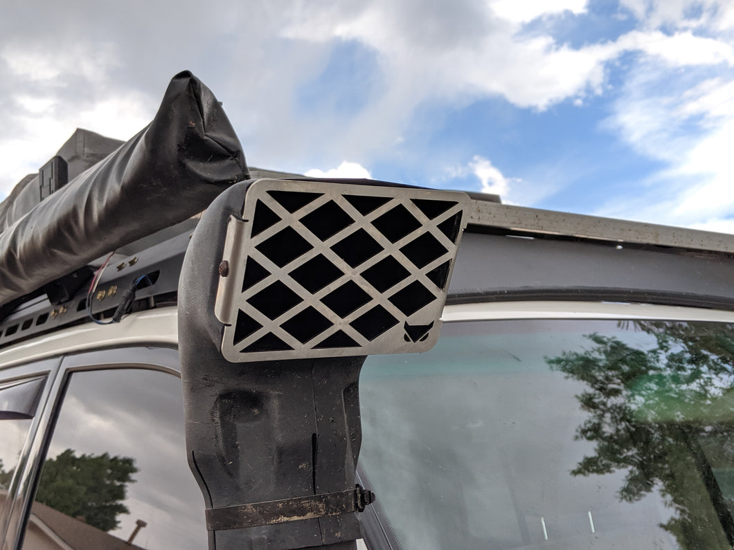 Stainless Steel Snorkel Grill Replacement
