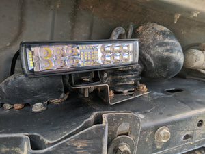 LX470/Land Cruiser 100 Series LED Rock Light Brackets