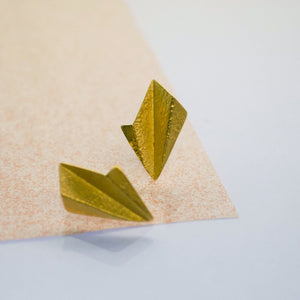 Leaf Earrings- Gold Plated