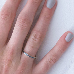 Stakis Ring - Silver