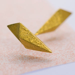 Petal Earrings - Gold Plated