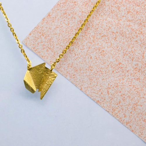 Meteor Necklace - Gold plated