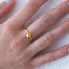 Load image into Gallery viewer, Small Moonrock Ring - Gold plated