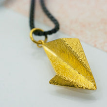 Load image into Gallery viewer, Leaf Pendant - Gold plated