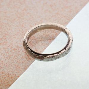 Double Wedding Band - Silver (Slim)