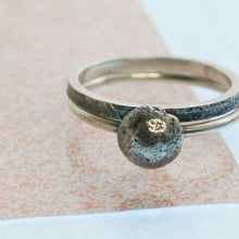 Load image into Gallery viewer, Small Moonrock Ring - Silver