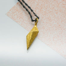 Load image into Gallery viewer, Petal Pendant - Gold Plated