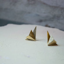 Load image into Gallery viewer, Wing Earrings (gold plated)