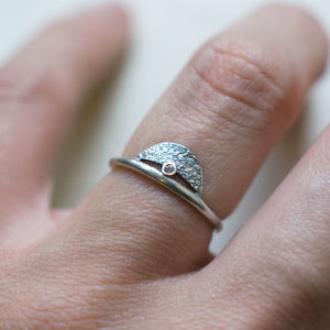Crescent Ring (Silver)