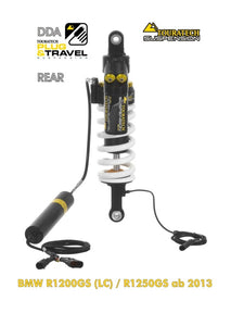 "Touratech Suspension ""rear"" shock absorber for BMW R1200GS(LC)/R1250GS DDA/Plug & Travel from 2013"
