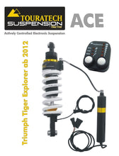 Touratech Suspension ACE shock absorber for Triumph Explorer from 2012 Typ Expedition
