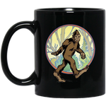 Bigfoot Black Mug