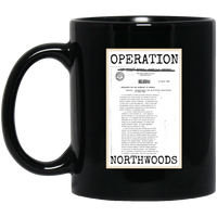 Operation Northwoods Black Mug