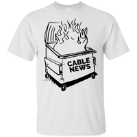 Dumpster Fire Tee - Cable News