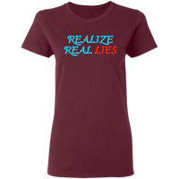 Realize Real Lies Women's Tee