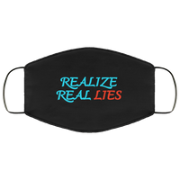 Realize Real Lies Face Mask