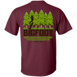 UFO Chronicles Bigfoot World Champ SE Tee