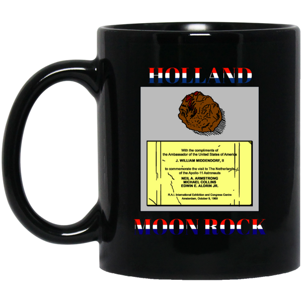 Holland Moon Rock Black Mug