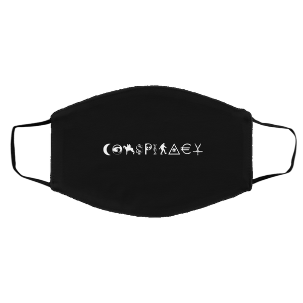 CONSPIRACY Face Mask