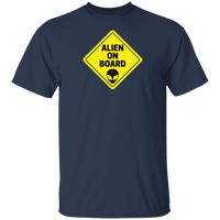 UFO CHRONICLES PODCAST Alien On Board Tee