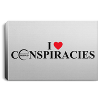 Bring On The Weird I (Heart) Conspiracies Canvas