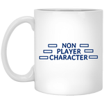Non-Player Character White Mug