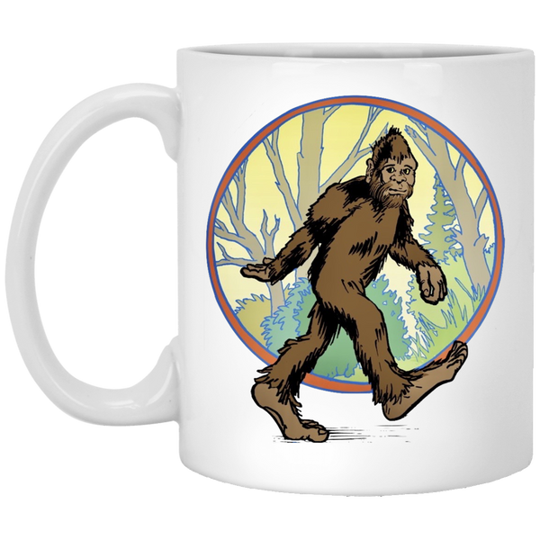 Bigfoot White Mug