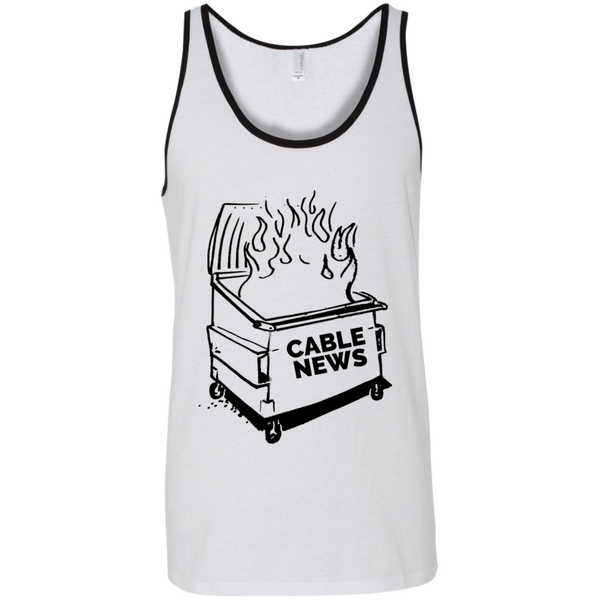 Dumpster Fire Tank - Cable News