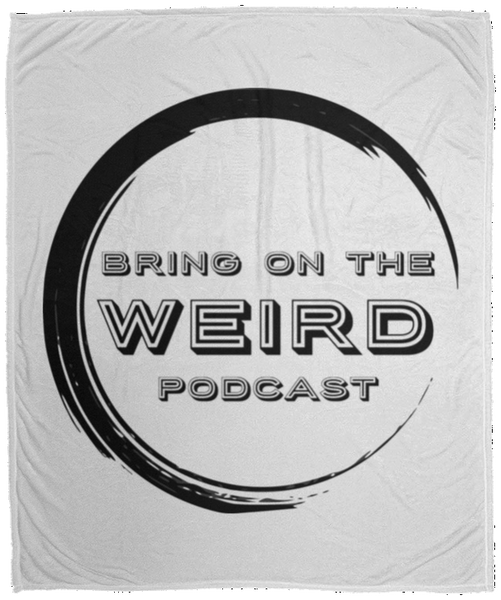 Bring On The Weird Logo Fleece Blanket - 50x60