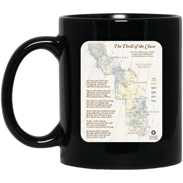 Forrest Fenn's Treasure Map Mug