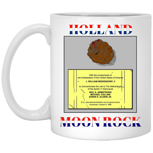 Holland Moon Rock White Mug