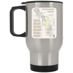 Forrest Fenn's Treasure Map Stainless Travel Mug