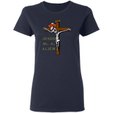 Jesus Was An Alien Women's Tee
